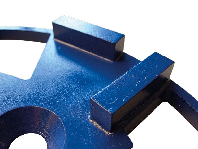 BELIDOR Schleifring Diamant blau