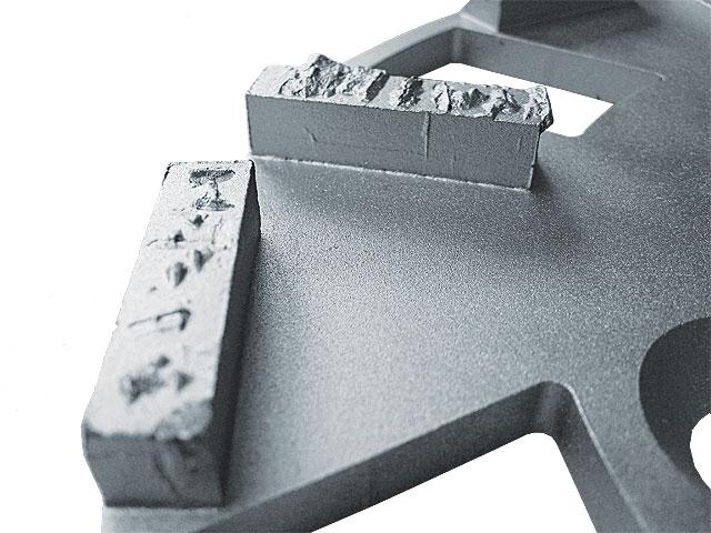 BELIDOR Schleifring PKD-Splitt silber