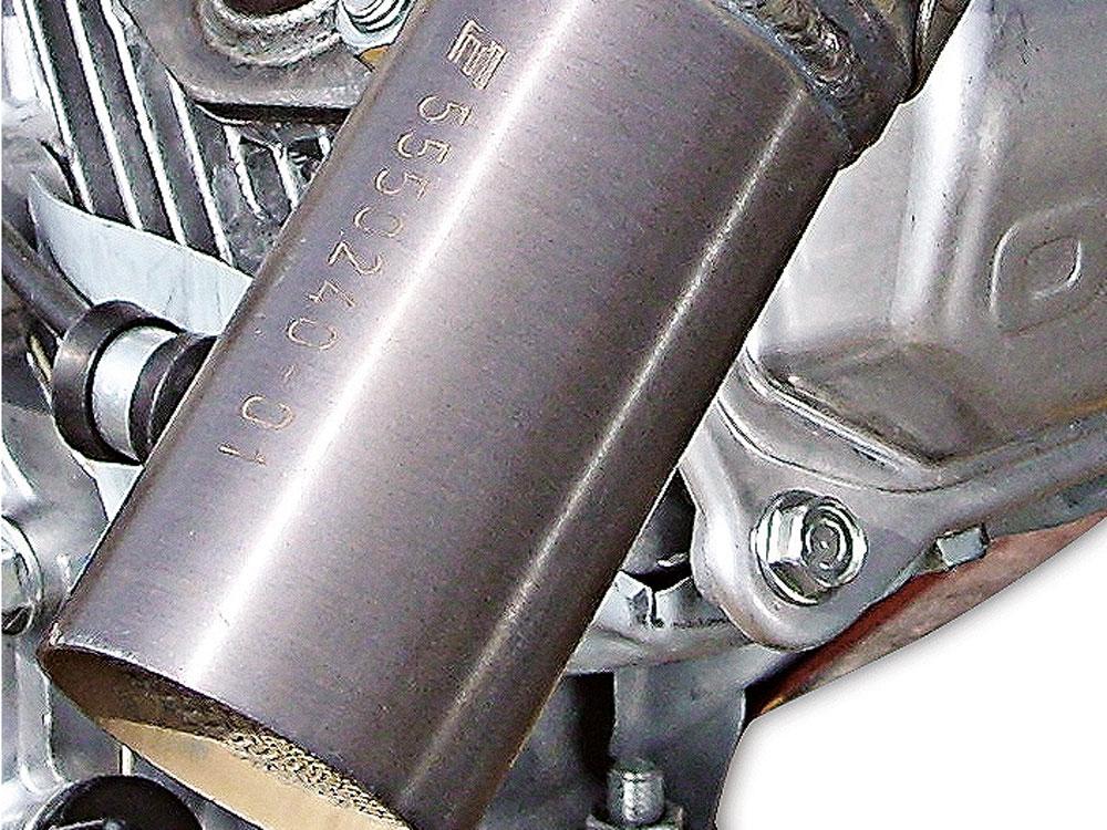 passender Katalysator für Benzin-Motor