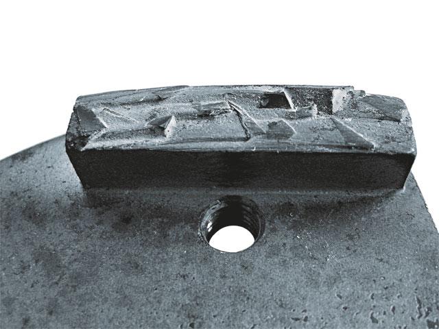 Алмазный сегмент для клеевых остатков